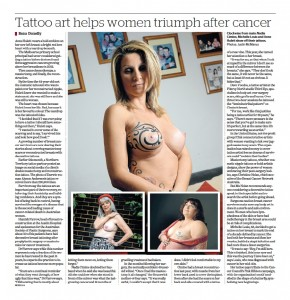 Tattoo post mastectomy - The Age copy